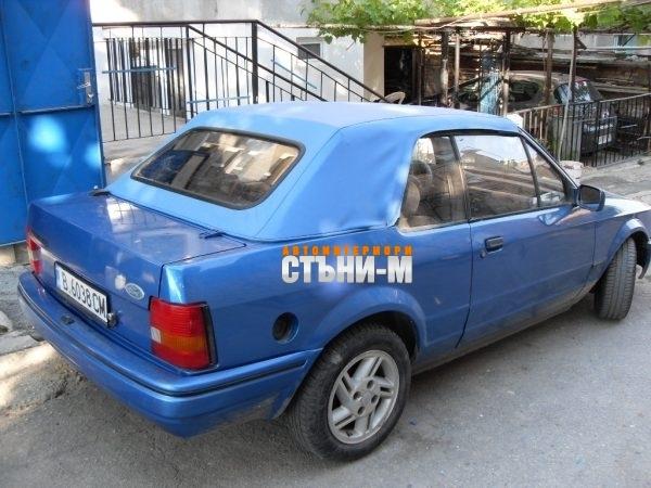 Форд Ескорт кабрио