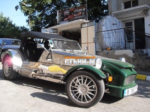 Форд лотос кабрио