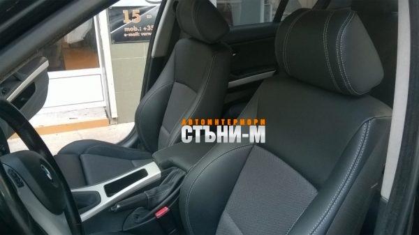 BMW Е91 кожен салон