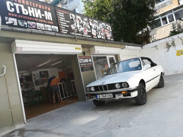 BMW E30 kabrio